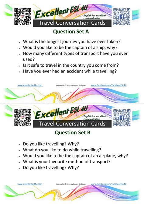 esl travel conversation