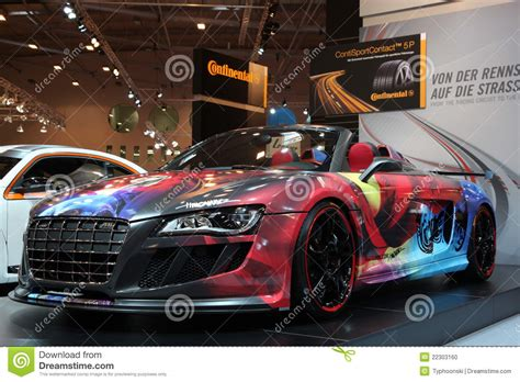 Custom Audi R8 From Abt Editorial Image  Image 22303160