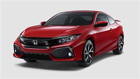 2018 Honda Civic Si Sedan Coupe Coming With A 205hp 1 5l