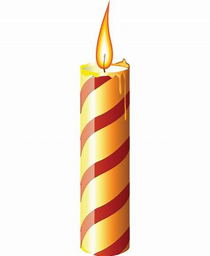 Candle Candles Clipart Christmas Church Clip Cliparts
