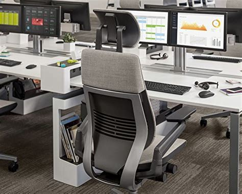 Steelcase Gesture Office Desk Chair with Headrest Cogent