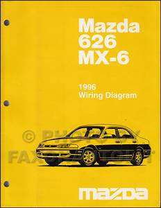 1996 Mazda 626  U0026 Mx
