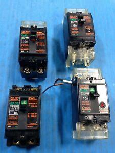Lot Used Fuji Circuit Breaker Amp Pole