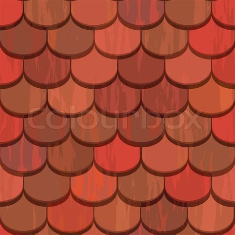 seamless clay roof tiles stock photo colourbox