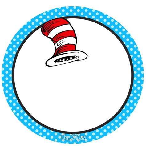 Blank Cat In The Hat Template