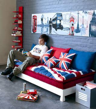 deco chambre ado drapeau anglais visuel 8