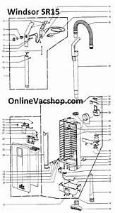 Windsor Vacuum Parts