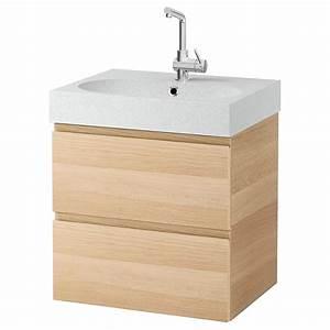Meuble Vasque Ikea : meuble lavabo salle de bain ~ Dallasstarsshop.com Idées de Décoration