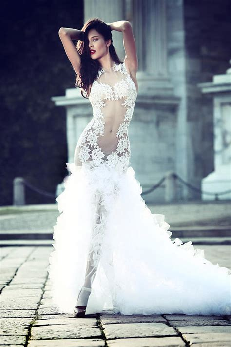 Sexy Wedding Dresses With Hottest Details Modwedding