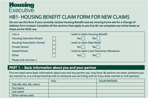 18558 housing benefit form best of housing benefit form housing benefit form