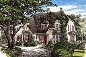 Elegant French Country Home - 32431WP | Architectural ...