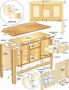 Easy mission sideboard – Canadian Home Workshop