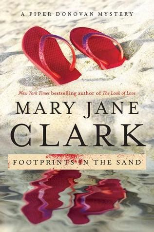 footprints   sand wedding cake mystery   mary jane clark reviews discussion