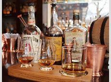 Bourbon Tastings in London, England at JW Steakhouse