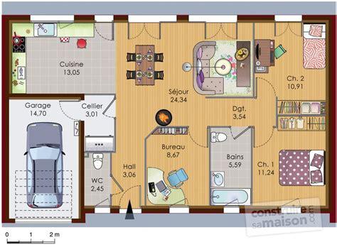 construire sa cuisine en 3d maison bois dé du plan de maison bois