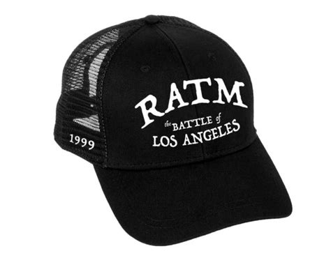Rage Against The Machine Baseball Cap Battle Logo new ...