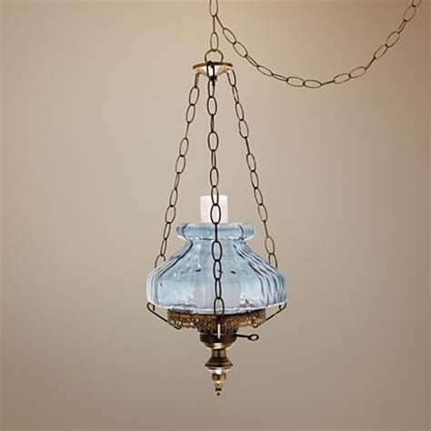 blue rhombus octagon 13 quot wide in swag chandelier