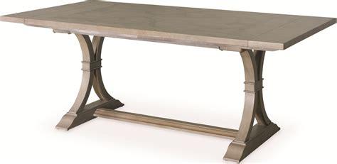 extendable rectangular dining table white peony mist grey le charm extendable rectangular