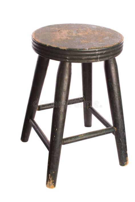 sgabello antico sgabello di legno antico immagine stock immagine di