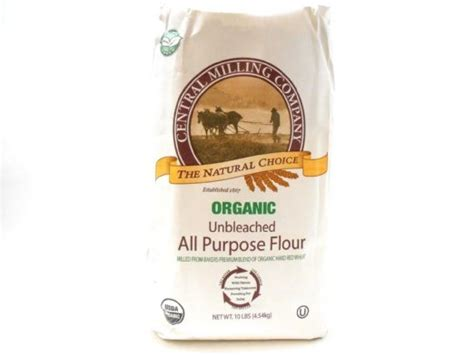 Organic, Unbleached, Not Enriched, White Flour Debsfaves