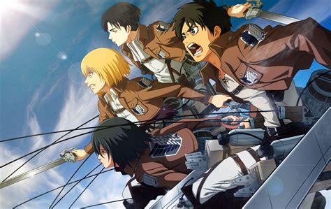 Anime Wallpaper Attack On Titan - attack on titan wallpapers backgrounds