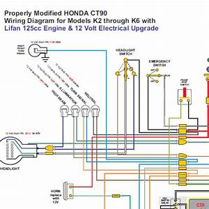 Honda Ct90 With Lifan 12 Volt Engine Wiring Diagram