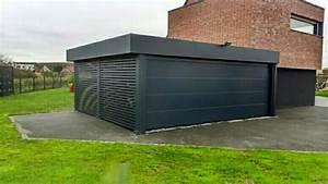 carport contemporain idees de design d39interieur With attractive abri de jardin contemporain 7 carport archives carport