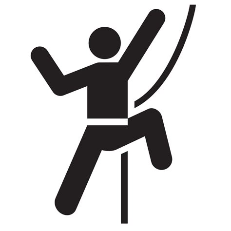 File Rock Climbing Vector Svg Wikimedia Commons