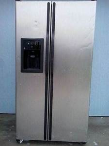 Ge Side By Side Refrigerator Model Number Gsl25jfpabs
