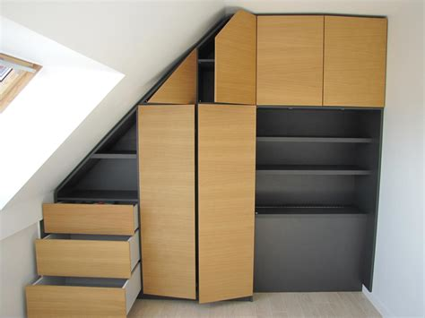 configurer cuisine meuble sous pente ou sous escalier sur mesure