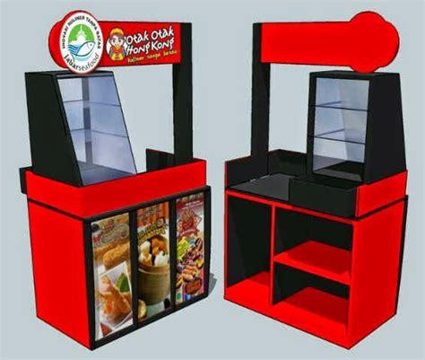 contoh contoh desain buat display gerobak booth