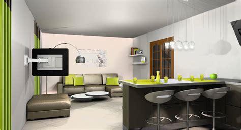 sejour et cuisine ouverte awesome cuisine ouverte et sejour u chaios modele de cuisine moderne ouverte sur salon