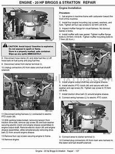 John Deere L100 L110 L120 L130 Repair Manual  Lawn