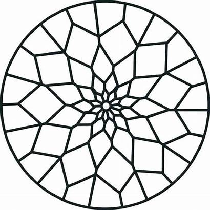 Patterns Mosaic Drawing Beginner Glass Stained Clipartmag
