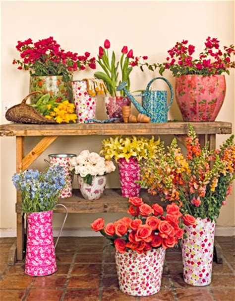 floral home accessories