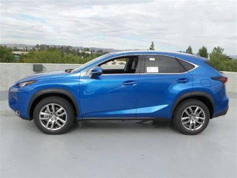 blue lexus nx photo image gallery touchup paint lexus nx in blue