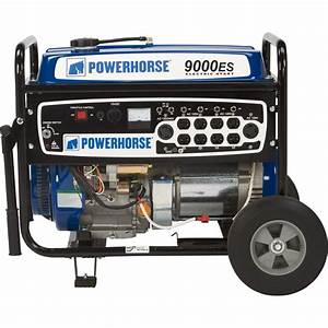 Free Shipping  U2014 Powerhorse Portable Generator  U2014 9000 Surge