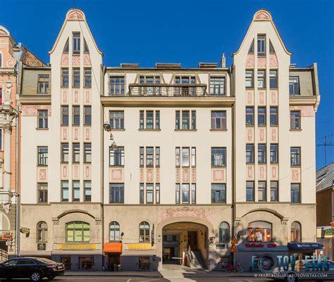 TOP 50 skaistākās jūgendstila dzīvojamās ēkas Rīgā - Fotovietas