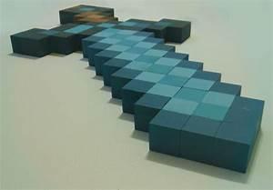 Diamond Minecraft Sword in real life - Screenshots - Show ...