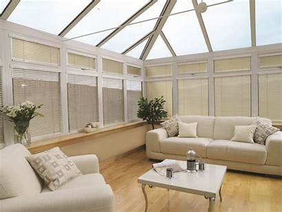 Conservatory Blinds Conservatories Venetian Roof Window Wooden