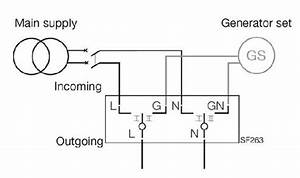 Wiring Diagram Of Change Over Switch