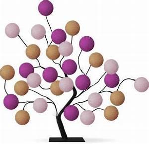 Boule Lumineuse Guirlande : guirlande lumineuse led arbre lumineux lampe arbre ~ Teatrodelosmanantiales.com Idées de Décoration