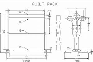 quilt rack plans » plansdownload