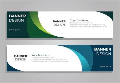 banner template psd  vector art   downloads