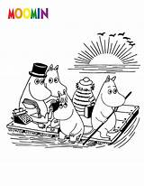 Coloring Cartoon Pages Moomin Moomins Printable Print Sheets Dirty Character Bestcoloringpagesforkids Characters Colouring Hellokids Muminki Stinky Animated Books Templates River sketch template