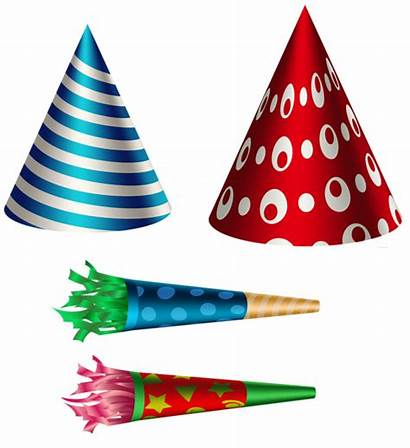 Birthday Transparent Party Clip Hat Clipart Happy
