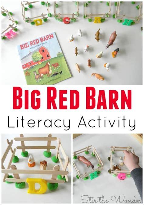 big barn literacy activity crafts for 531 | 90957ca14b7cfcd7faa8efd6144462f4 activities for preschoolers literacy activities