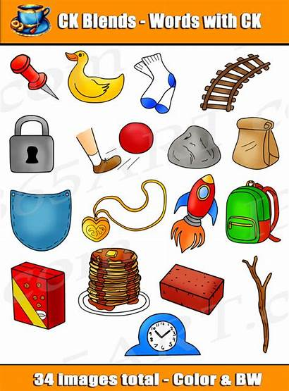 Ck Clipart Digraph Blends Words Word Commercial