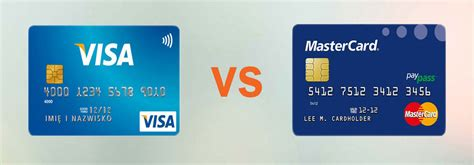Visa Vs Mastercard What's The Difference Between Visa