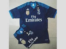 Leaked Blue Real Madrid Third Kit 20152016 Football Kit